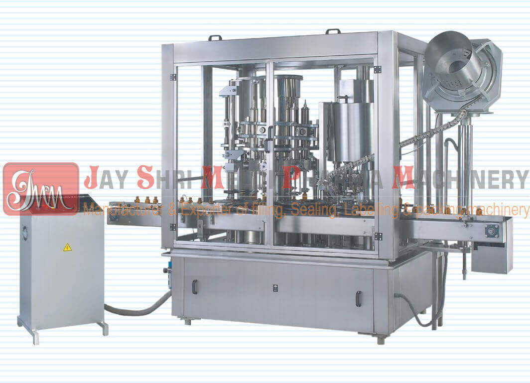 ROTARY PISTON FILLING & SEALING MACHINE (Monoblock)