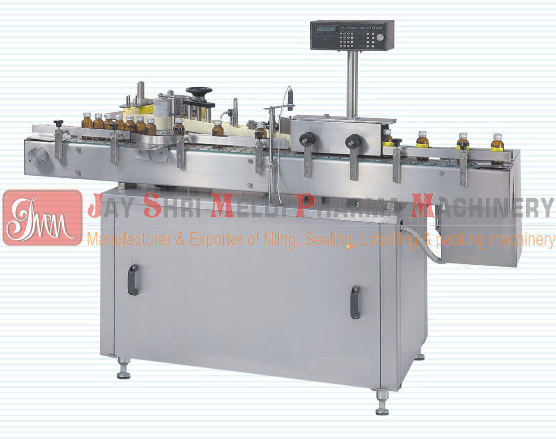 AUTOMATIC SELF ADHESIVE LABELING MACHINE (Sticker Labeling)