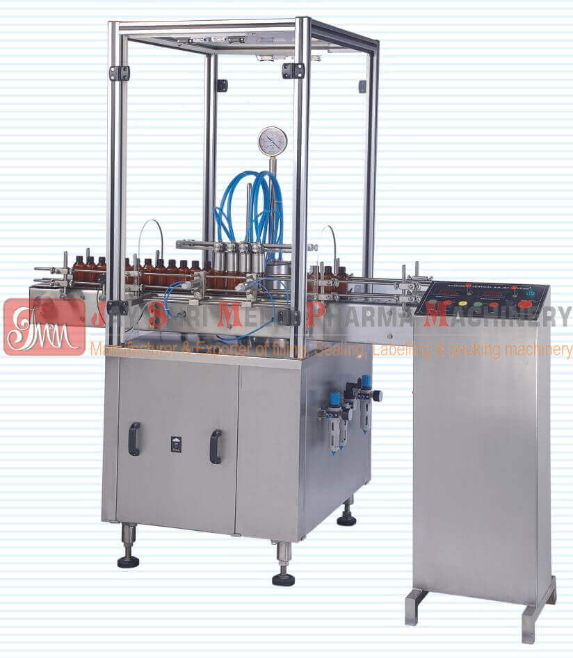 AUTOMATIC VERTICAL AIRJET CLEANING MACHINE