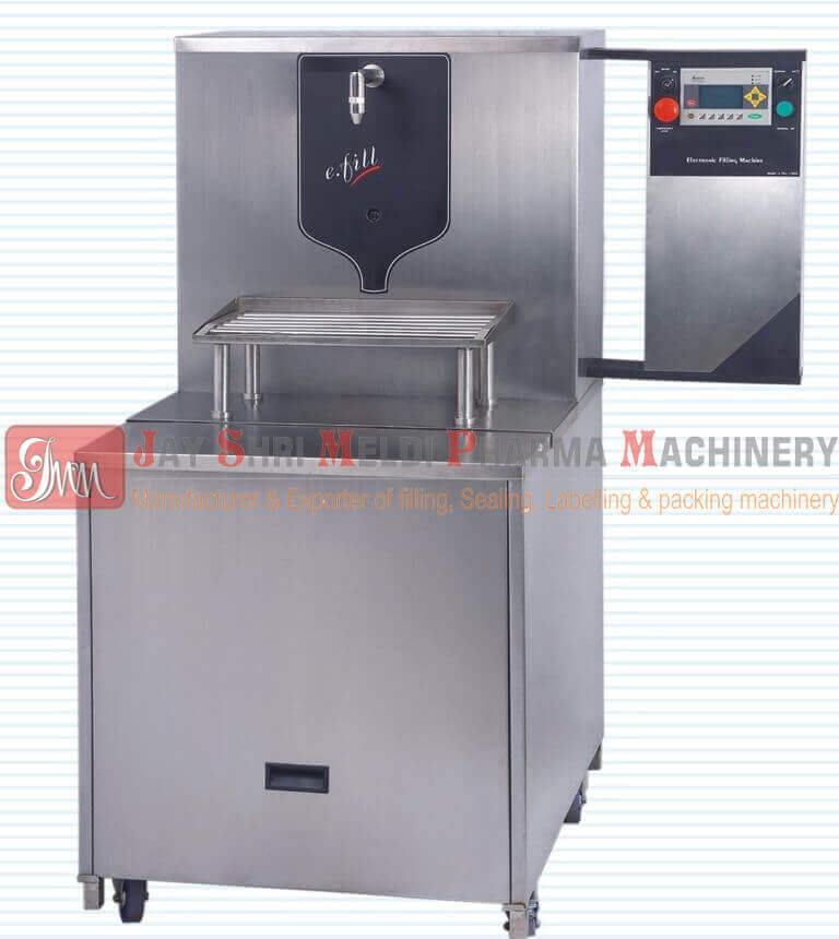SEMI AUTOMATIC ELECTRONIC BULK LIQUID FILLING MACHINE